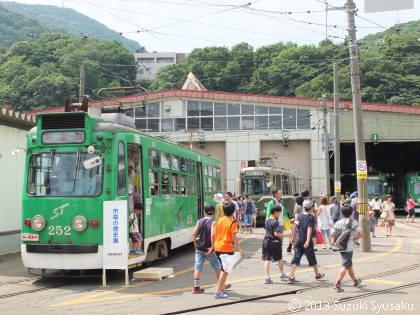 【作品展示】8/25(日)札幌市電「市電フェスティバル」