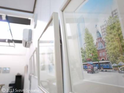 【作品展】「市電日記2013」本日開幕♪