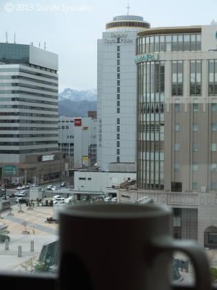 宮の森日記●札幌駅前