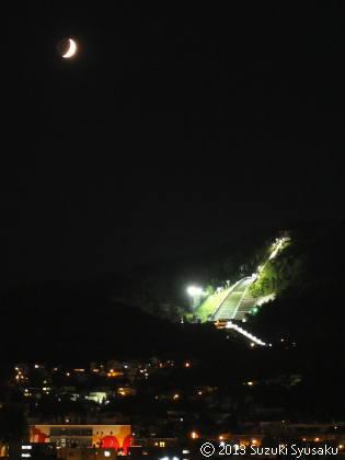 宮の森日記●月夜の大倉山