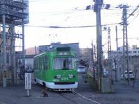 【札幌市電】244号車(元・ペコちゃん電車)