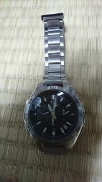 腕時計をもらった(casio wave ceptor MULTIBAND 6 WVQ-M410)