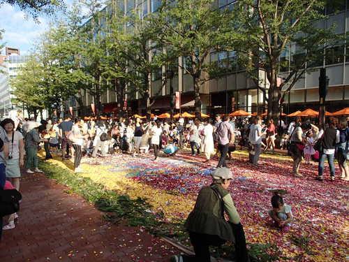 北3条広場★「フラワーカーペット2014」を見てきました。