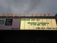水曜日のカンパネラ IN THE BOX ツアー 新木場studiocoast
