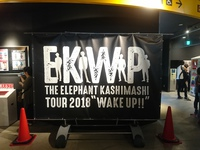 THE ELEPHANT KASHIMASHI WAKE UP TOUR Live at Zeppなんば