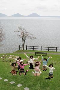 支笏湖ジャンプ