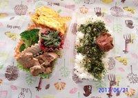 6月21日(水)のお弁当