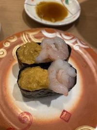 トリトン伏古店で寿司