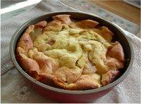 梨のもっちりケーキ