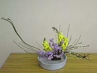 生け花の昇級試験課題1